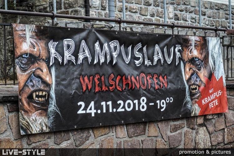 24.11.2018 - 4. Krampuslauf in Welschnofen - der LAUF